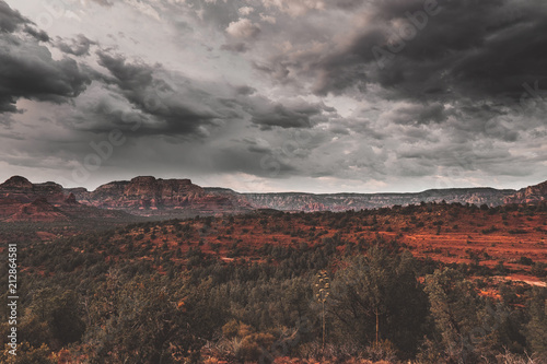 Keuken foto achterwand Grijze traf. Sedona, Arizona, USA