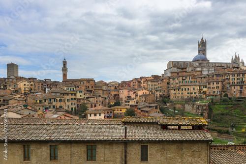 Fotografía Panoramic view of Siena, Tuscany, Italy