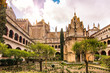 Royal Monastery of Santa Maria de Guadalupe, province of Caceres, Extremadura, Spain