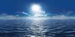 canvas print picture - Meer, Sonne und wenig Wolken 360° Panorama