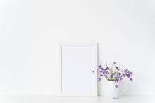 Minimal White Portrait A4 Fram...