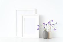 White Portrait A4, A5 Frame Mo...