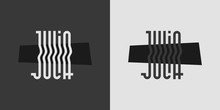 Julia Logo, Lettering, Vector