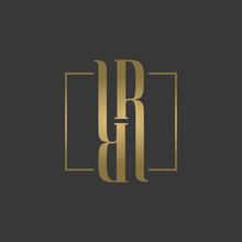 RR Logo, Monogram, Vector