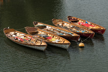 Rowing Boats At Richmond Upon Thames