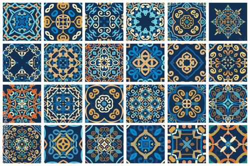 Arabic decorative tiles Fototapeta