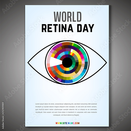 Cuadros en Lienzo  World retina day