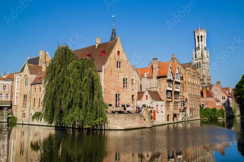 Deurstickers Brugge Brügge , Belgien