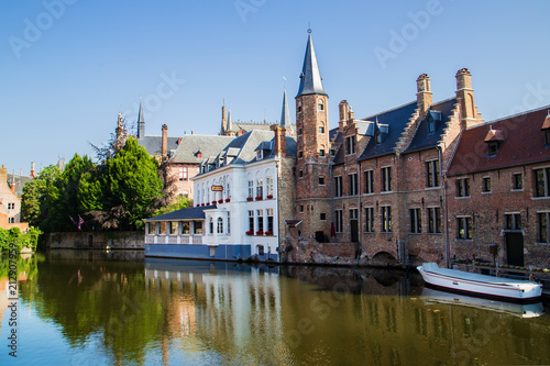 In de dag Brugge Brügge , Belgien