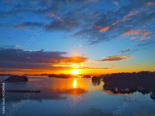 Valokuva 松島の朝日