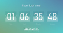 Flip Countdown Clock Counter T...