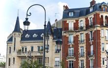 France. Reims. Street Lamp Aga...
