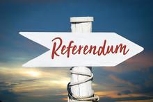 Schild 317 - Referendum