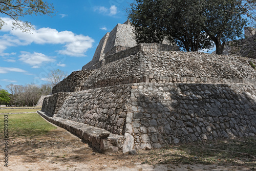 Papiers peints Con. ancienne Ruins of the ancient Mayan city of Edzna near campeche, mexico