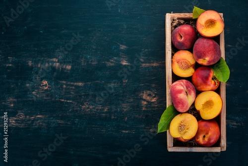 Fotografie, Obraz Fresh peaches
