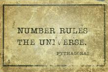 Number Rules Pythagoras