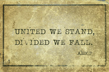 United We Stand Aesop