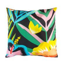 Decorative Floral Throw Pillow.