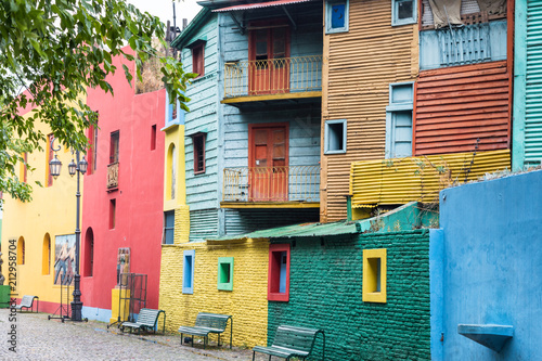 Keuken foto achterwand Buenos Aires Colourful house at La Boca