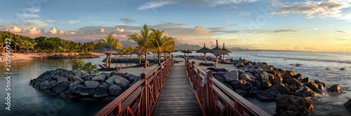 Obraz na plátně Mauritius Balaclava panorama