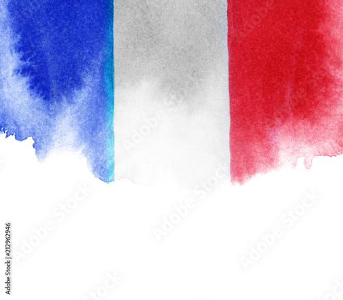 Fototapeta Flag of France background texture obraz