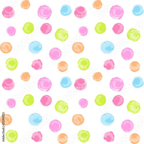Tapety Kropki styl-recznie-rysowane-polka-dot-bez-szwu