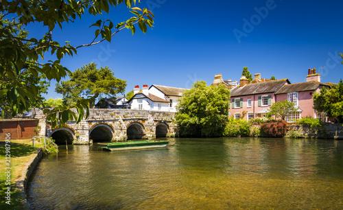 Canvastavla Bridge over the River Avon Christchurch Dorset England