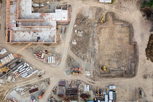 Aerial View:Construction Of Re...