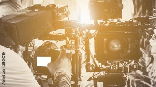 Film production crew, Professional camera equipment