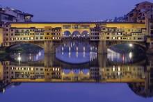 Ponte Vecchio Over The Arno Wi...