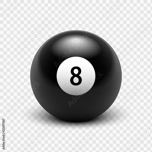 Obraz na plátne Vector illustration billiards