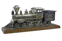 Old Train Locomotive Model On ...