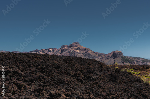 Fotobehang Grijze traf. Nature and landscapes in Vulcanic Tenerife