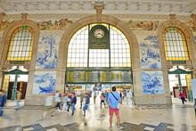 Railway Station Sao Bento In Porto