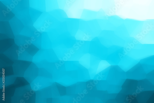 Blue Abstract Mosaic Background Spring Business Background