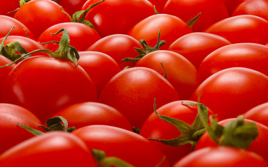 Background abstract tomato pattern.