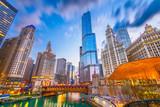 Chicago, Illinois, USA Pejzaż miejski