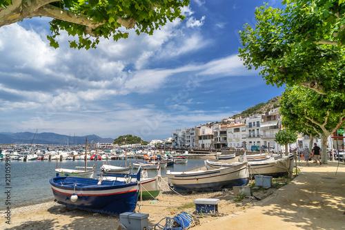 Port de Selva on Cape Creus Costa Brava Spain