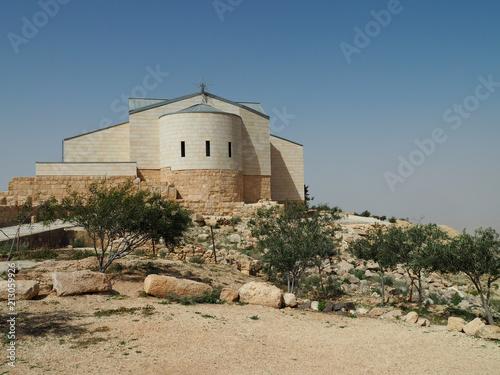 Fotobehang Midden Oosten Church in Mouth Nebo