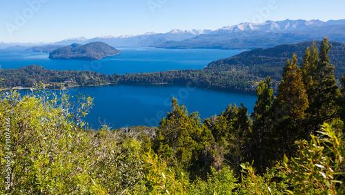 Papiers peints Pays d Asie Lago Nahuel Huapi and Cerro Campanario