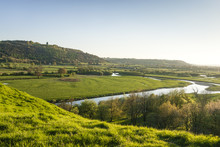 Looking Out Along The Towy Val...