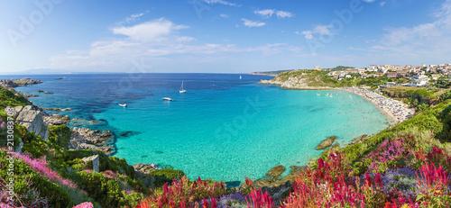Photo  Rena Bianca beach, north Sardinia island, Italy