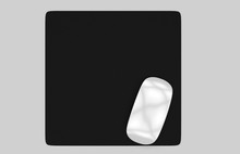 Rectangular Blank Mouse Pad Wi...