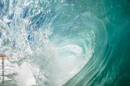 Beautiful dark ocean wave