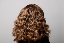 Female Hairstyle Long Curls On...