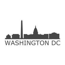 Banner Of Washington D.C., Washington Icon
