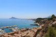 SPECTACULAR VIEW TO THE MEDITERRANEAN SEA WITH YACHTS AND LUXURY HOUSES