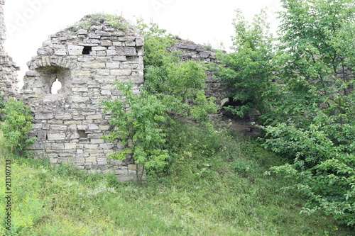 Keuken foto achterwand Olijf The ruins of the old fortress
