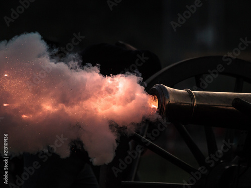 Photo Cannon Blast