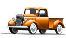 Старый грузовой ...